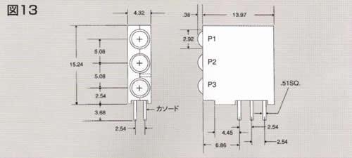 Dialight 551/553/564/568シリーズ バックライト用CBI