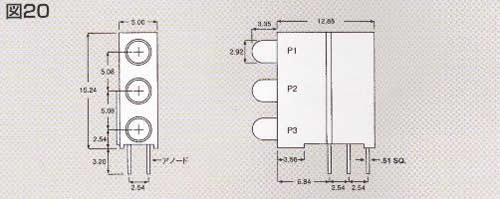 Dialight 551/553/564シリーズ DIN41494対応CBI