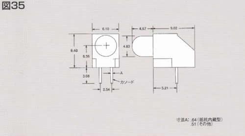 Dialight 550-xx08シリーズ 5φLED CBI